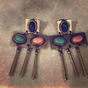 Jewelmint Cleopatra Cabochon earrings